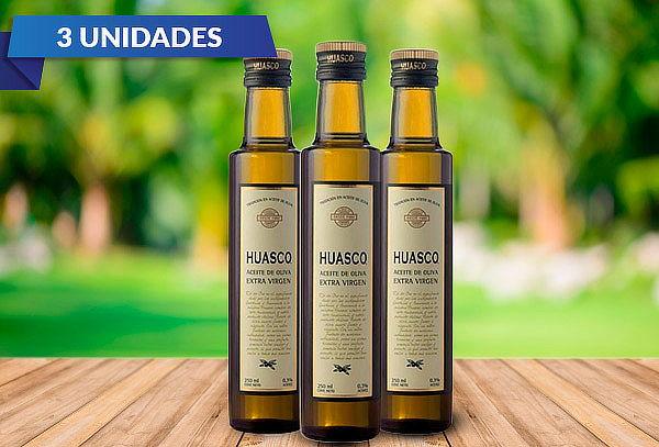 Tripack Aceite de Oliva Huasco 250ml