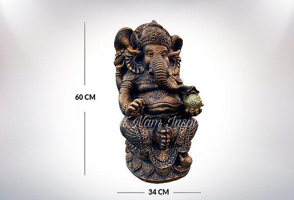 ¡Oferta! Figura Ganesha Ziña 60 cm