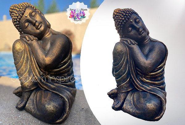 ¡Oferta Única! Buda Sat Nam Durmiente Ziña 50 cm