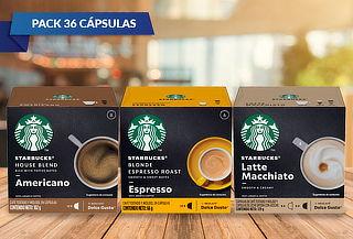 36 Cápsulas Starbucks NESCAFÉ® Dolce Gusto® Sabor a elección