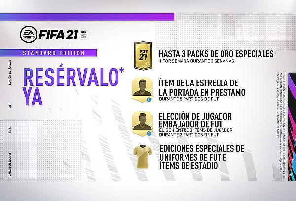FIFA 21 para PS4