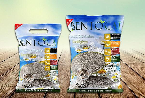 Pack 10, 14 o 18 Kilos Arena Sanitaria para Gatos Bentocat