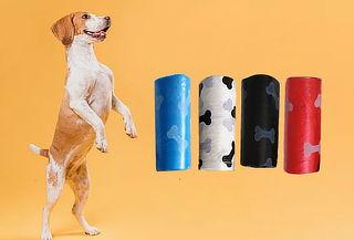 900 o 1080 Bolsitas Higiénicas para Mascotas