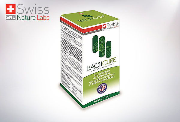 Bacticure Probiótico Tratamiento para 2 Meses