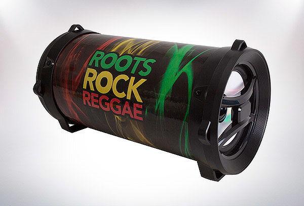 Parlante Bazooka Led BT PX75, diseño a elección