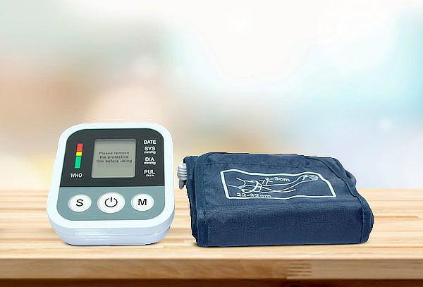 Medidor Presión Arterial Pulso Digital Pantalla