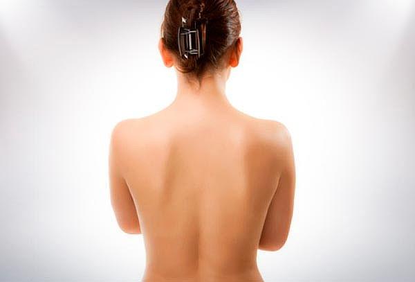 Limpieza de espalda con opción a glúteos