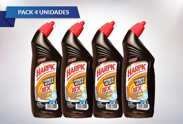 Pack de 4 Harpic 100% removedor de sarro 750 ml. a Elección