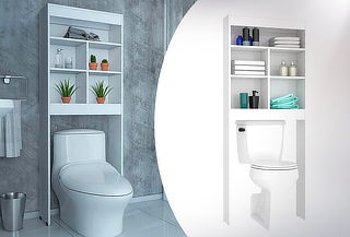 Mueble Optimizador Baño Bath 20 Blanco Marca Tuhome