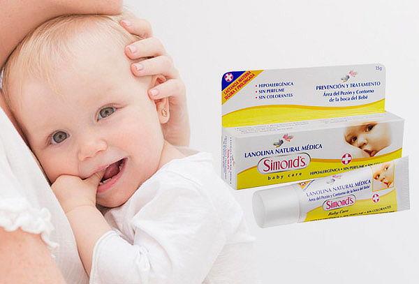 Lanolina Natural Medica Pomo! Marca Simonds