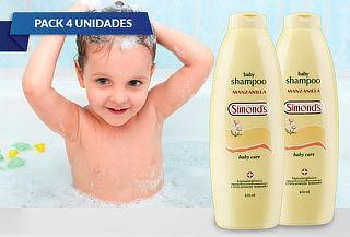 Pack de 4 Shampoo Camomilla Manzanilla Sin Lágrimas!