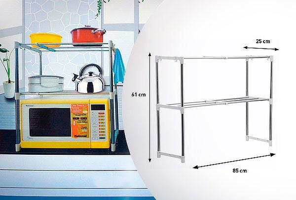 Rack Estante Organizador Microondas Cocina