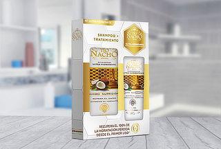 Pack Tio Nacho shampoo coco 415ml + tratamiento 200g