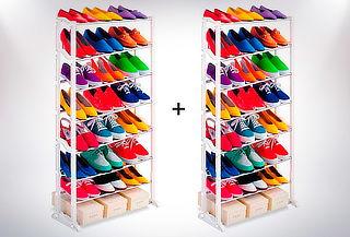 2 Organizadores de Zapato para 30 pares