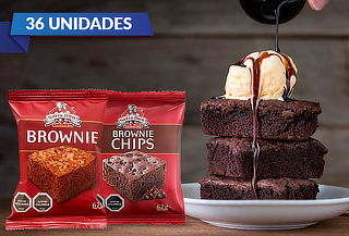 ¡Elige tu preferido! 36 Brownie Nutra Bien