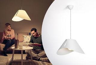 Lámpara Colgante Philips Ecru