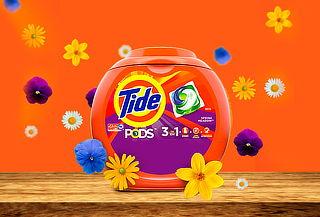 Detergente Tide Pods 81 Capsulas