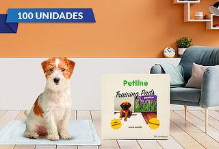 Pack 100 Toallas Entrenamiento Mascotas 60cm X 60cm