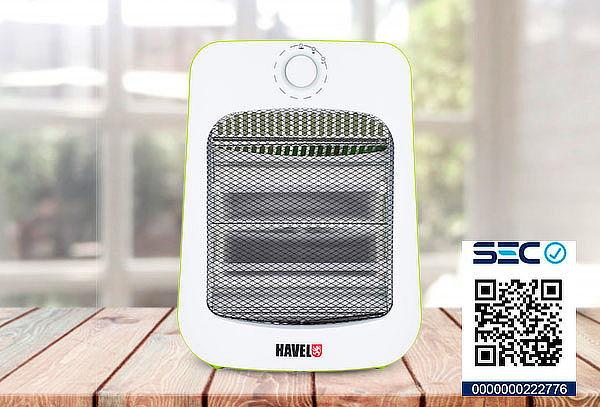 ¡Calienta tu Hogar! Calefactor Havel Q800 Verde