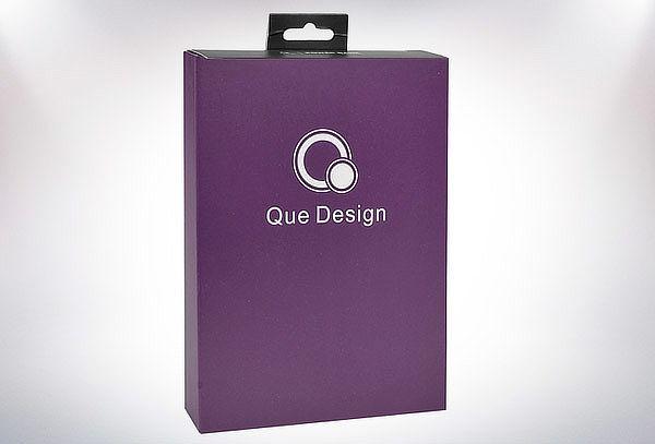 Batería Portable Smartphone Design QUE-4400mAh Púrpura