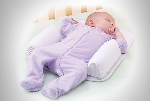 Almohada posicionadora para bebé