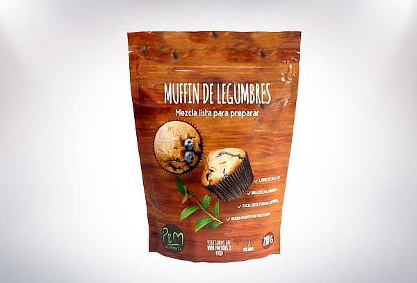 ¡Descubre sabores! Preparación de Muffin de Legumbres