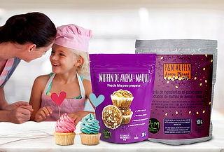 ¡Descubre sabores! Preparación para Muffin de Avena-Maqui