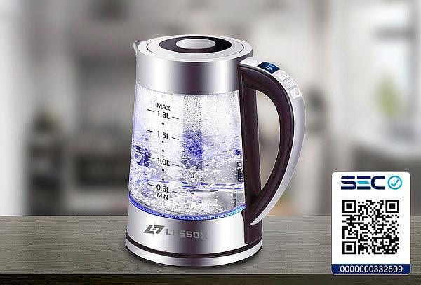 Hervidor temperatura programable 1,8 Litros Marca Lessox