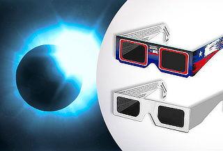 Pack de 5 o 10 Lentes de Sol para eclipse