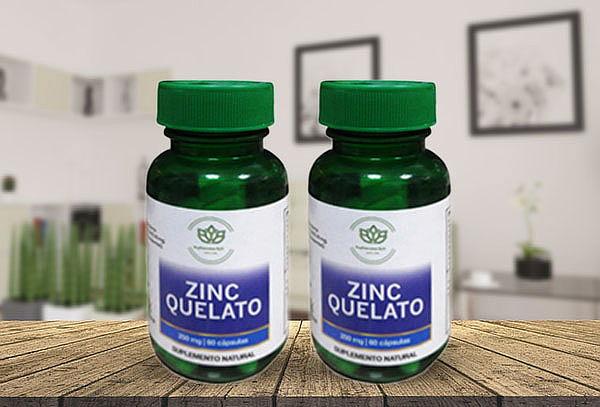 ¡Único! 120 Cápsulas Vegetales de Zinc Quelato 15 mg