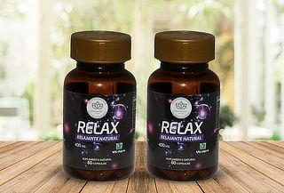 ¡Mega Relax! 120 Cápsulas Vegetales de Relajante Natural