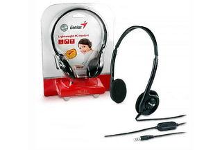 Audífono Genius HS-M200 Video Llamadas con Micrófono + Envío