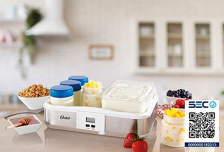Prepara tu Propio Yogurt Artesanal con Yogurtera Oster!