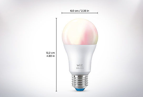 Ampolleta Wifi LED Wiz Color A60/E27