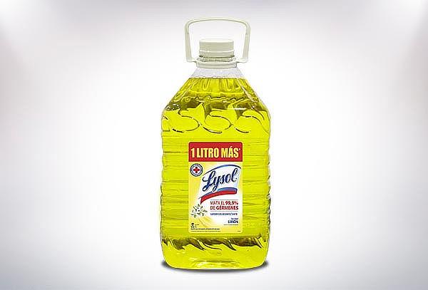 Pack de 3 Lysol Diluible de  5 Litros