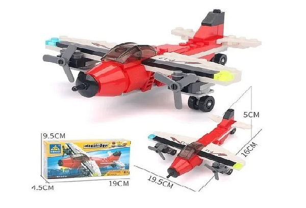 ¡Pack 2 x 1! Bloques de Construcción Helicóptero + Envío
