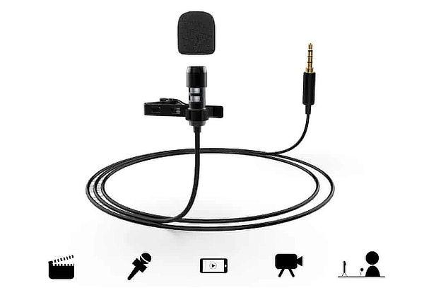 Micrófono Lavalier Fifine para IPhone/Android + Envío