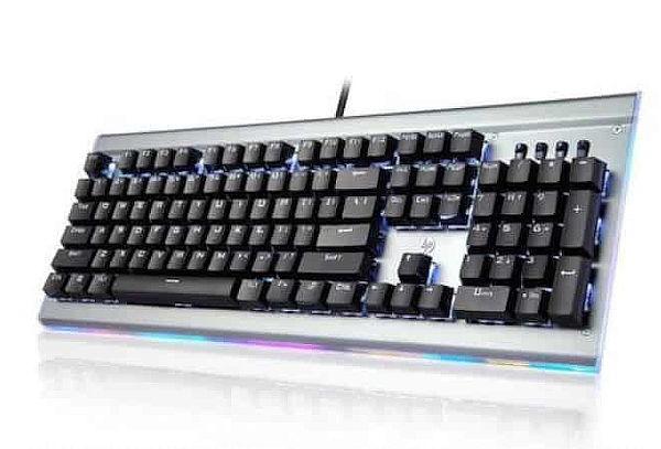 ¡Teclado Gamer HP! Mecánico RGB Black Switch + Envío
