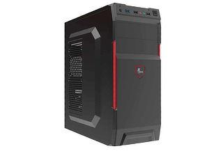 ¡Gabinete Xtech! Mind Tower ATX 600 Watt + Envío