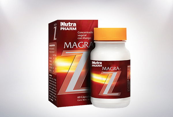 ¡Baja de Peso! Pack de 2 Frascos Magra Z Nutrapharm