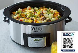 Olla de Cocción Lenta Slow Pot Dura Ceramic Easy Ways