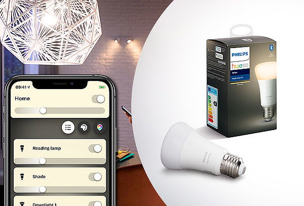 Ampolleta Inteligente Bluetooth E27 White Philips HUE