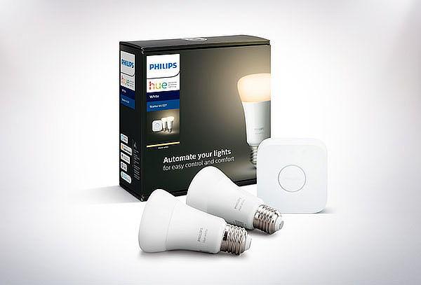Pack 2 Ampolletas Inteligentes E27 White Philips HUE