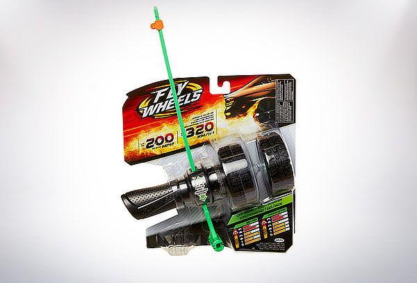 Fly Wheels Lanzador con Rueda Básica + Rueda Adicional