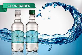 24 Botellas de Agua Purificada Benedictino 500 cc