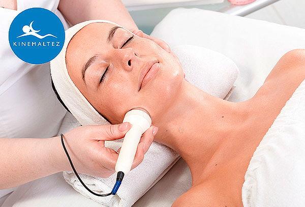 1 o 2 S.Limpieza facial con alta frecuencia+ radiofrecuencia