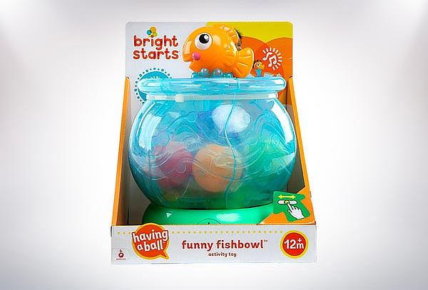 Juguete pesca con pelotas