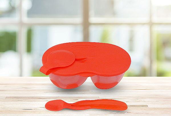 Set Doble De Alimentacion Rojo