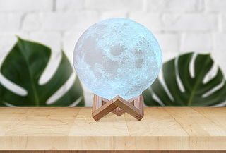 Lampara Luna 3D Touch
