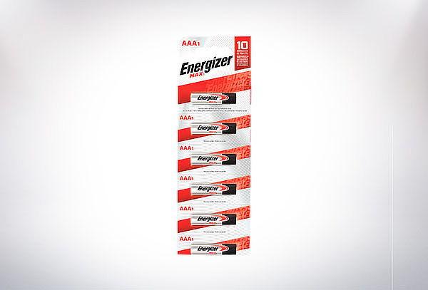 6 Pilas Energizer MAX AA o AAA en tira prepicado